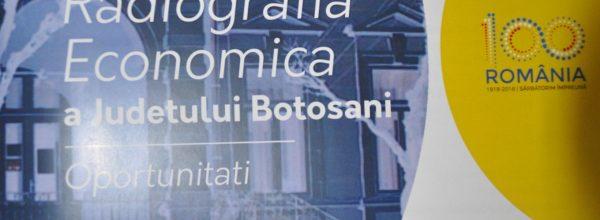 """Conferinţa de diseminare a rezultatelor Studiului Economic """"Radiografia Economică a Judeţului Botoşani-Oportunităţi"""""""