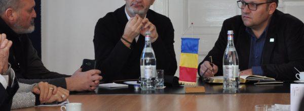 Întâlnire între marii angajatori şi Ministrul Municii şi Justiţiei Sociale găzduită de CCIA Botoşani