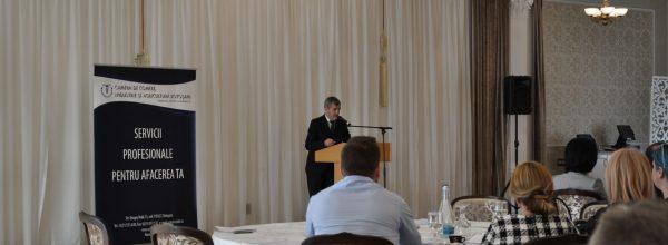 Întâlnire anuală organizată de CCIA Botoşani cu mediul de afaceri local