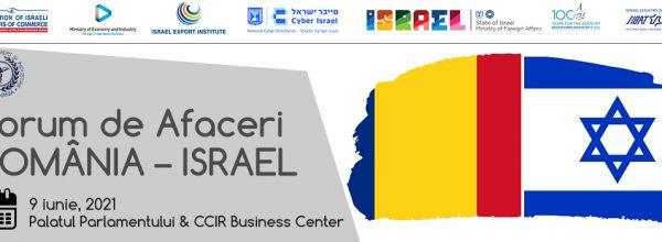 Forum de afaceri România – Israel